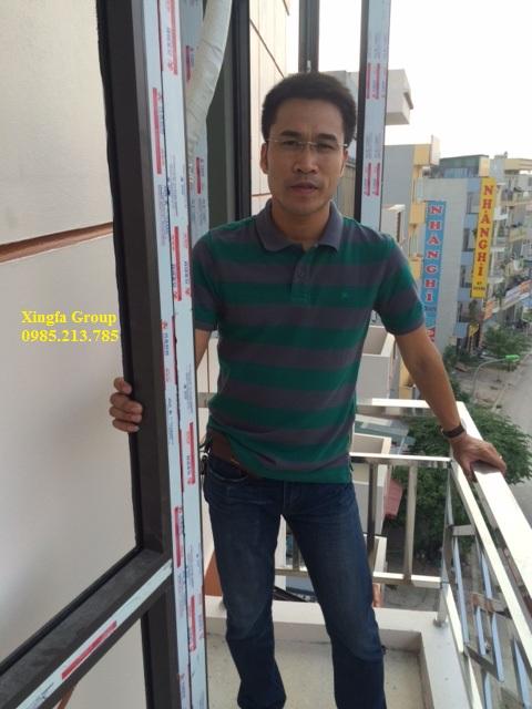 Lắp đặt cửa nhôm Xingfa nhập khẩu tại các tòa nhà cao tầng hiện nay